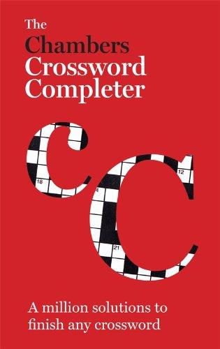 Chambers Crossword Completer: Ed), Chambers