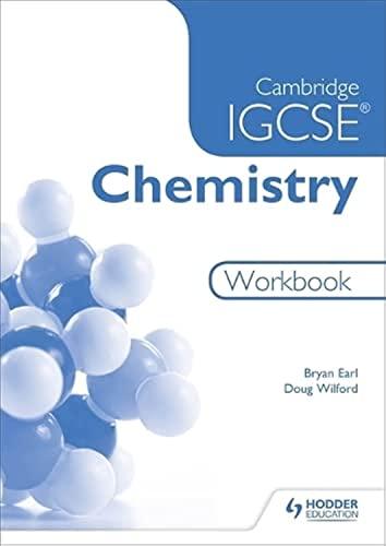 9781471807251: Cambridge IGCSE Chemistry Workbook 2nd Edition