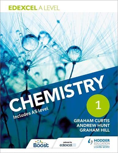 9781471807466: Edexcel a Level Chemistry Studentbook 1