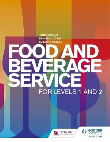 Food and Beverage Service for Levels 1: John Cousins, Dennis