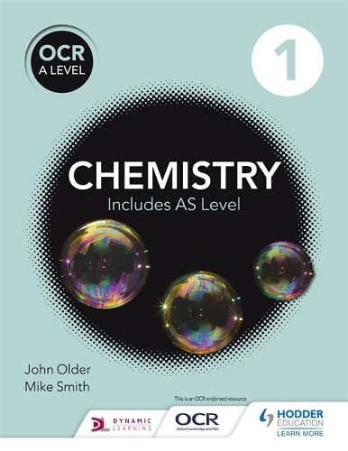 9781471827068: OCR a Level Chemistry Studentbook 1