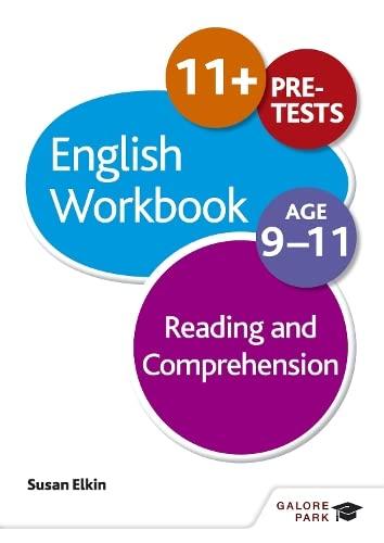 9781471829659: Reading & Comprehension Workbook Age 9-11