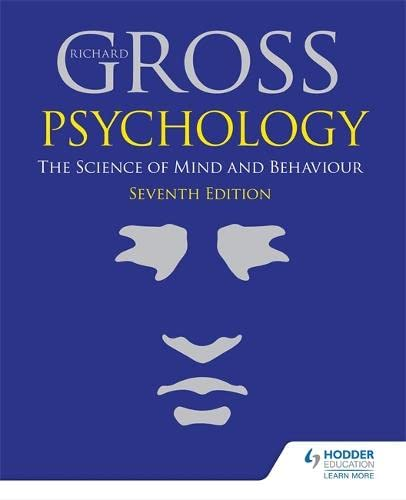 9781471829734: Psychology: The Science of Mind & Behaviour