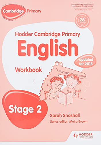Hodder Cambridge Primary English: Work Book Stage 2: Stage 2: Snashall, Sarah
