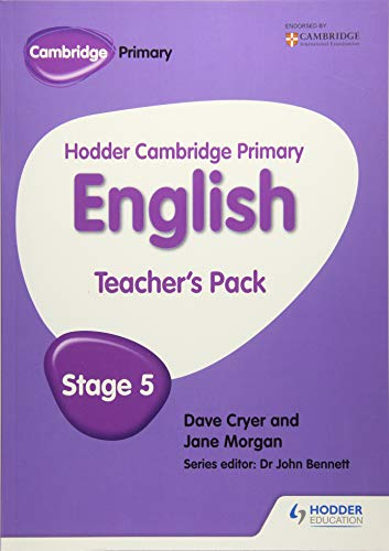 Hodder Cambridge Primary English: Teacher's Pack Stage 5: Cryer, Dave