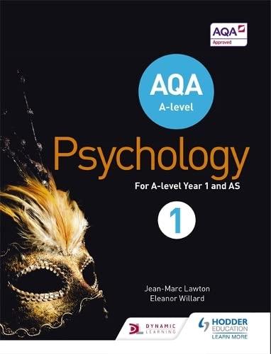 AQA A-Level Psychology Book 1: Lawton, Jean-Marc, Willard,