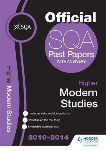 SQA Past Papers 2014-2015 Higher Modern Studies: SQA (Hodder Ed)