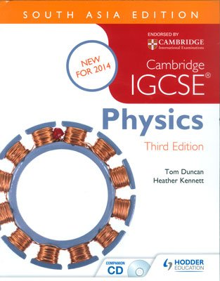 9781471837968: Cambridge IGCSE Physics 3rd Edition plus CD