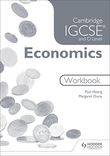 9781471845123: Cambridge IGCSE and O Level Economics Workbook