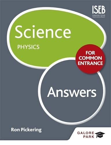 Science for Common Entrance: Physics Answers (Paperback)