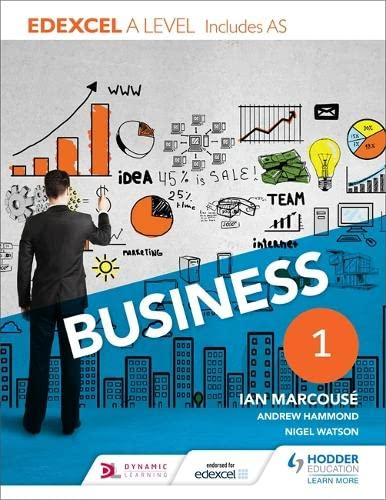9781471847769: Edexcel Business a Level Year 1