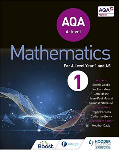 9781471852862: AQA A Level Mathematics Year 1 (AS) (Aqa a Level As)