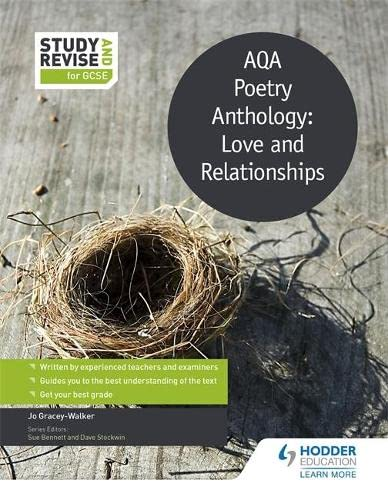 Study and Revise: AQA Poetry Anthology: Love: Jo Gracey-Walker