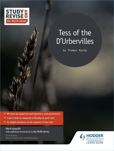9781471854019: Study and Revise for AS/A-level: Tess of the D'Urbervilles (Study & Revise for As/A-level)