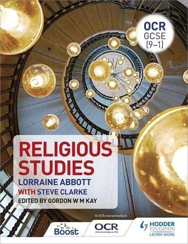 9781471865244: OCR GCSE (9-1) Religious Studies