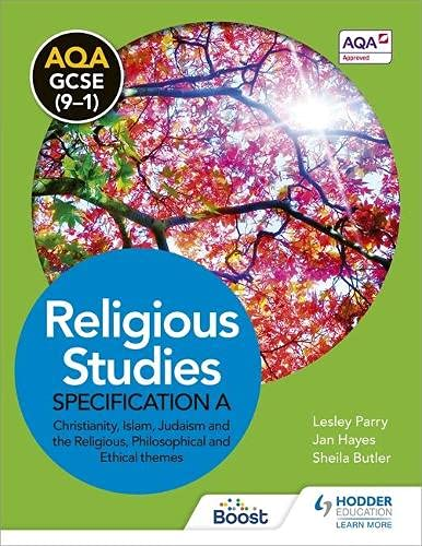 9781471866852: AQA GCSE (9-1) Religious Studies Specification A