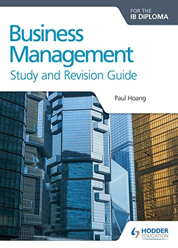 9781471868429: Business Management for the IB Diploma Study and Revision Guide