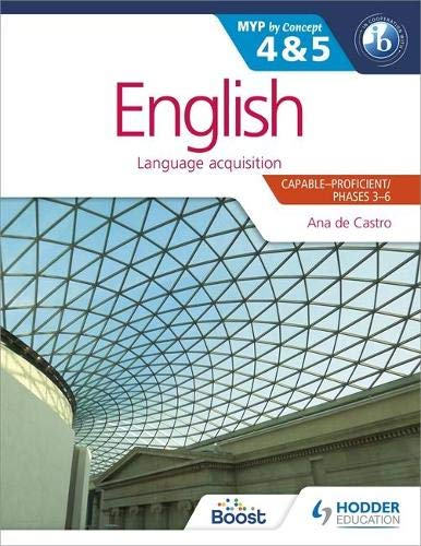9781471868450: English for the IB MYP 4 & 5: by Concept (Dynamic Learning)