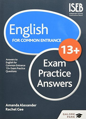 English for Common Entrance at 13+ Exam: Amanda Alexander, Rachel