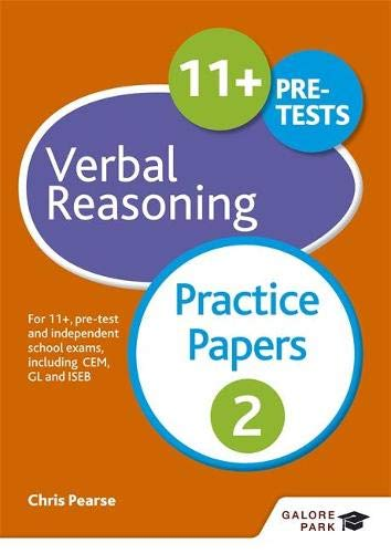 9781471869068: 11+ Verbal Reasoning Practice Papers 2: For 11+, pre-test and independent school exams including CEM, GL and ISEB