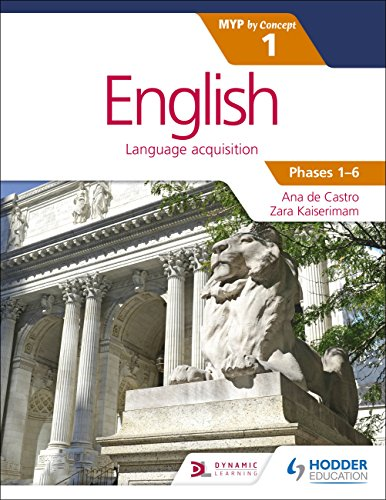 9781471880551: English for the IB MYP 1 (Capable–Proficient/Phases 3-6): by Concept