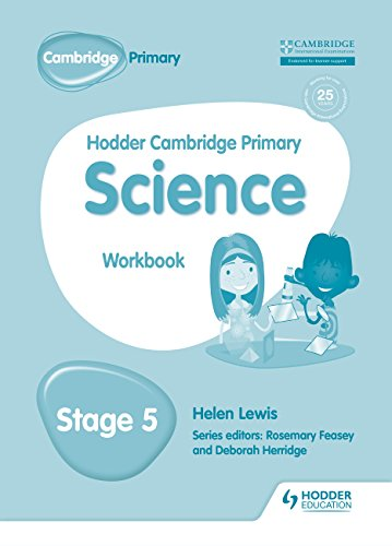 9781471884245: Hodder Cambridge Primary Science Workbook, Stage 5