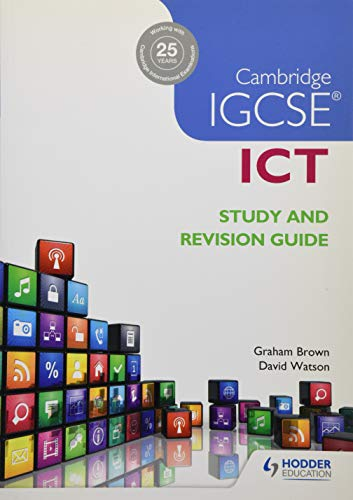 9781471890338: Cambridge IGCSE ICT Study and Revision Guide (Igcse Study Guides)