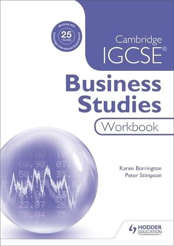 Cambridge Igcse Business Studies Workbook: Borrington, Karen;stimpson, Peter