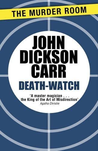 9781471905148: Death-Watch