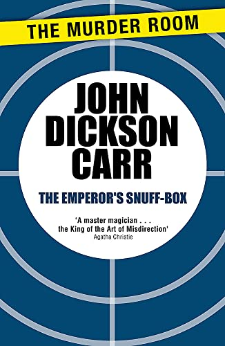 9781471905278: The Emperor's Snuff-Box