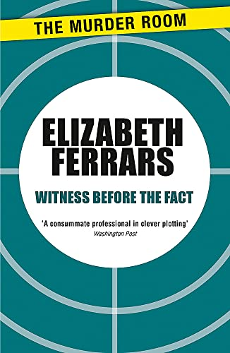 9781471906688: Witness Before the Fact (Murder Room)