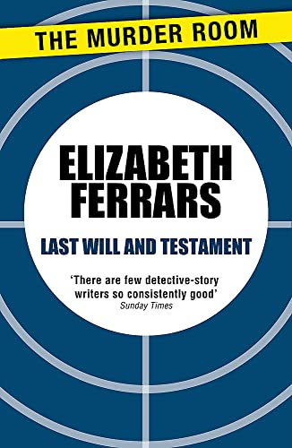 9781471906763: Last Will and Testament (Virginia Freer)