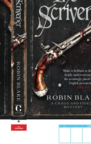9781472116017: The Scrivener (Cragg & Fidelis)
