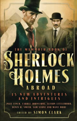 9781472118820: Mammoth Book Of Sherlock Holmes Abroad