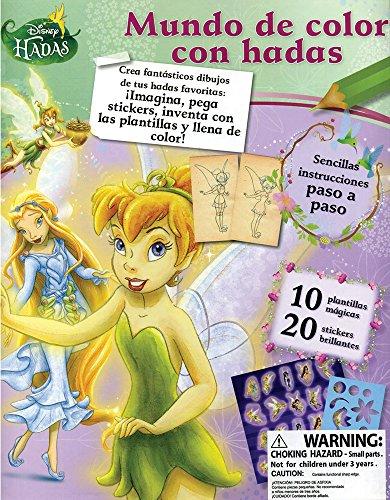 9781472303790: Disney Hadas: Mundo de color con hadas (Spanish Edition)