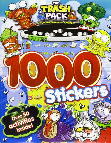 9781472304681: The Trash Pack: 1000 Stickers