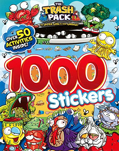 9781472304698: Trash Pack 1000 Stickers