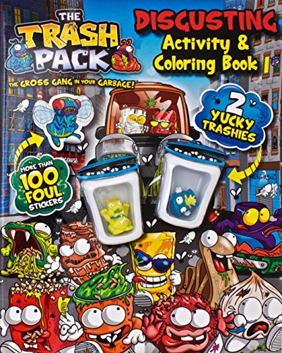 Trash Pack Mucky Activity And Coloring (Trashpack Toys): Parragon Books
