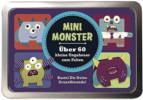 9781472305121: Boxset Mini Monster Über 60 kleine Ungeheuer zum Falten: Bastel Dir Deine Gruselfreunde!