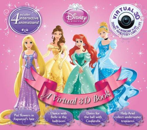 Disney Princesses (Virtual 3D): Parragon Books