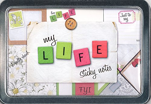 9781472305589: My Life Sticky Notes (Life Canvas Tin)