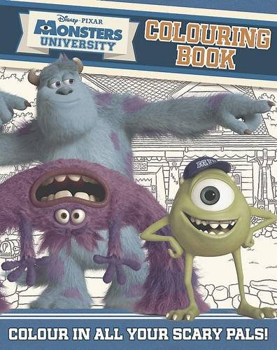 9781472305626: Disney Monsters University Colouring Book: With more than 60 pages!
