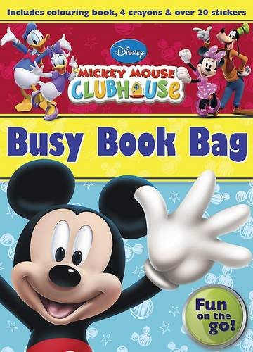9781472305695: Disney Junior Mickey Mouse Clubhouse Busy Book Bag