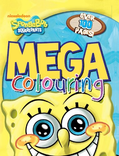 9781472306807: Spongebob Squarepants Mega Colouring
