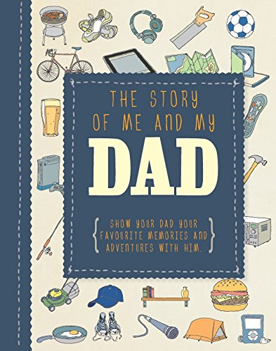 The Story of Me and My Dad Journal A5