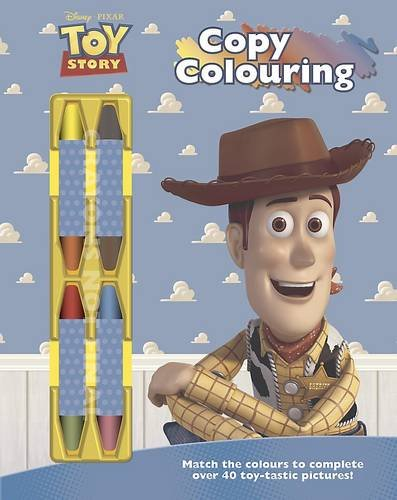 9781472308009: Disney Toy Story Copy Colouring Book with Chunky Crayons