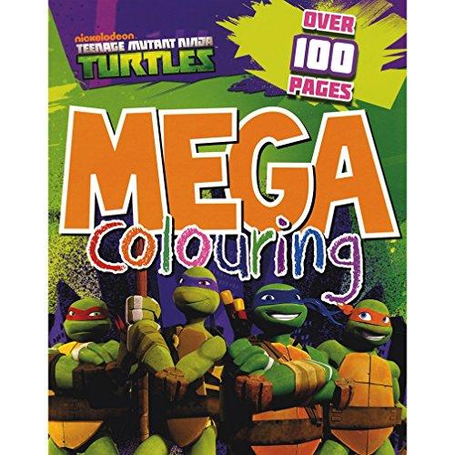 9781472311207: Teenage Mutant Ninja Turtles Mega Colouring