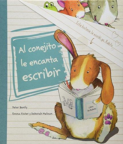 9781472311931: Al conejito le encanta escribir (Spanish Edition) (Picture Books)