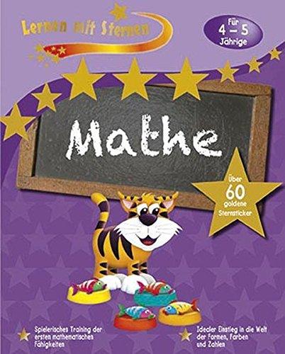 9781472314482: Lernen mit Sternen - Mathe für 4- bis 5-Jährige: Über 60 goldene Sternsticker