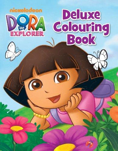 9781472317995: Nickelodeon Dora the Explorer Deluxe Colouring Book